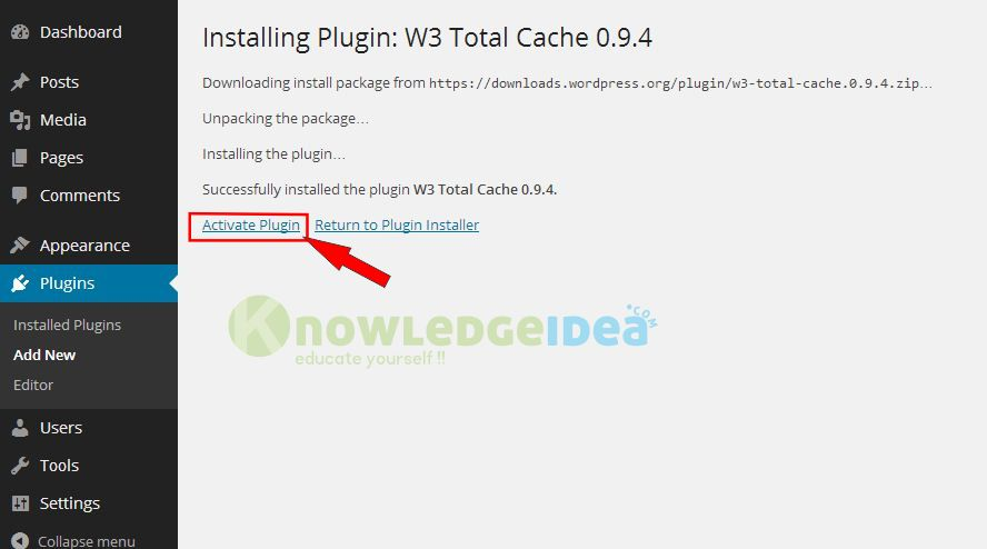 W3 cache total setting s