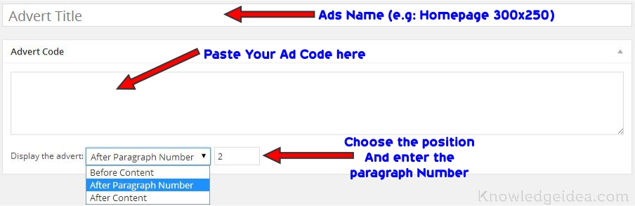 How to Put Ads in WordPress Post Content