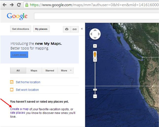 How to Create Google Maps step 2