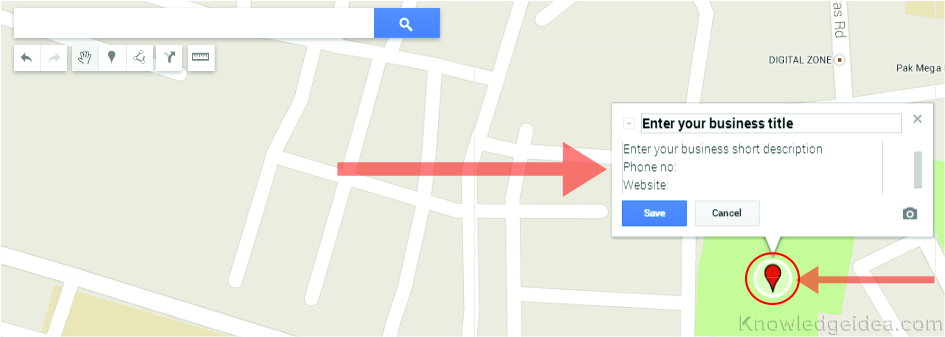 How to Create Google Maps step 4