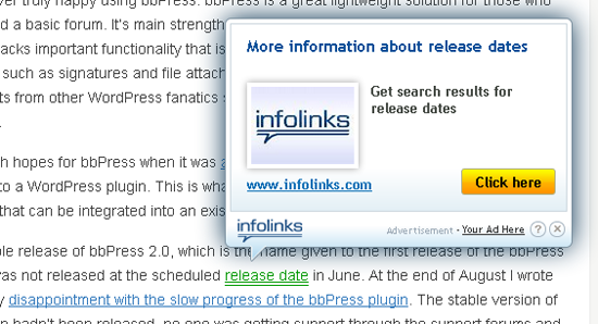 How to Add Infolinks Ads on website