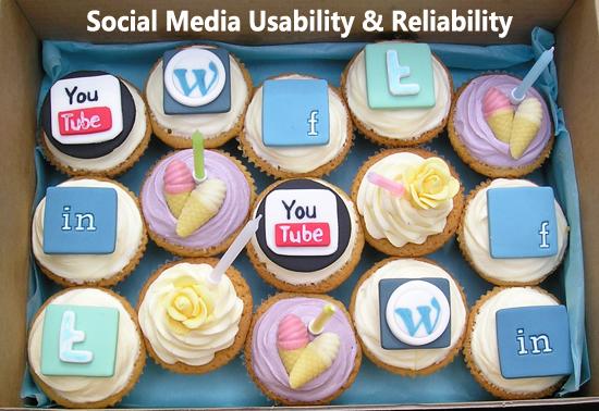 Social Media Marketing Usability and Reliability