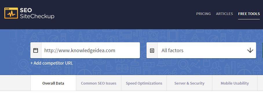 Seo Tools Checker