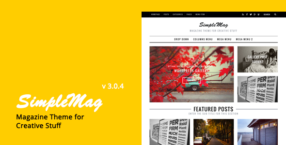 Simplemag WordPress Magazine themes