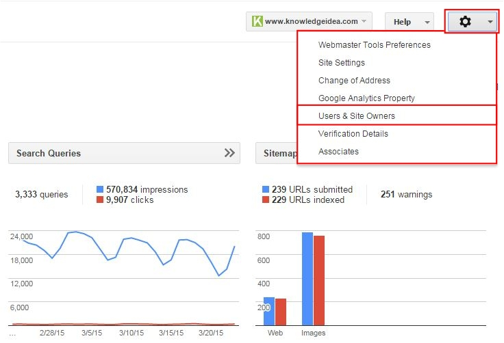 How to Add User in Google Webmaster Tool step_2