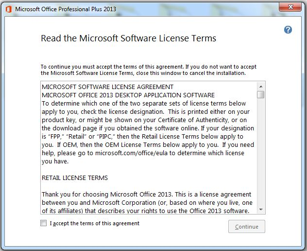 How to Install and Activate Microsoft Office 2013 step 2