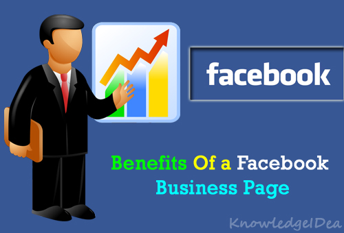 Top 5 benefits of a facebook business page knowledgeidea