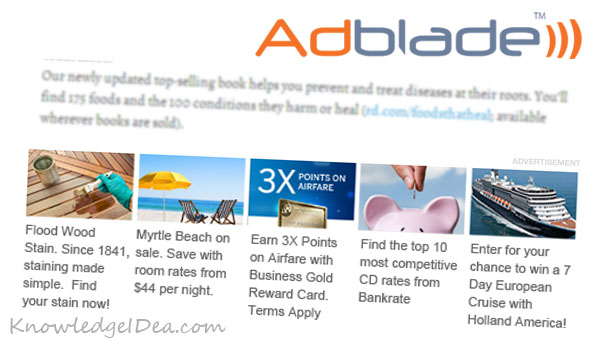 Adblade Publisher Review - Pros and Cons