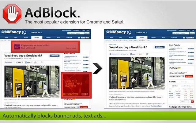 How to Block Pop up ads in Google Chrome adblocker