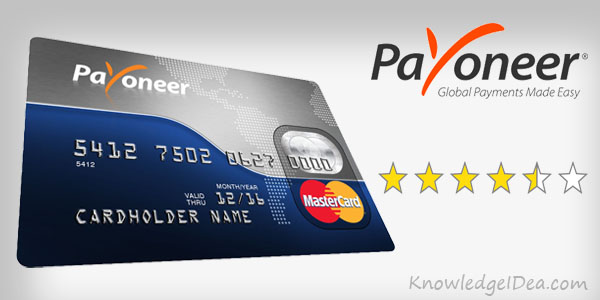 Payoneer MasterCard Review and Tips