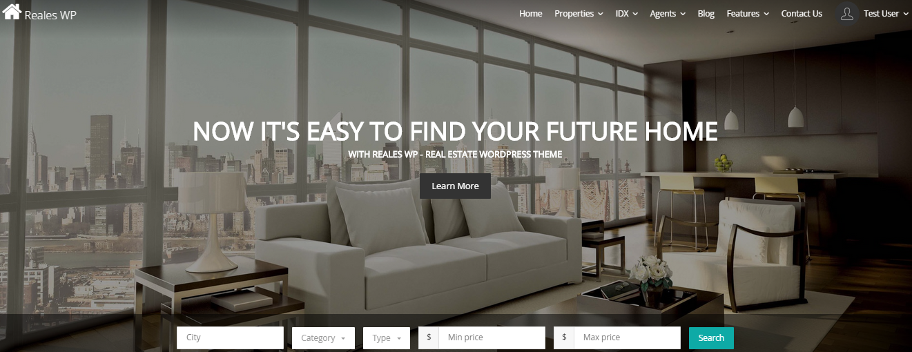 Reales WP Real Estate WordPress Themes