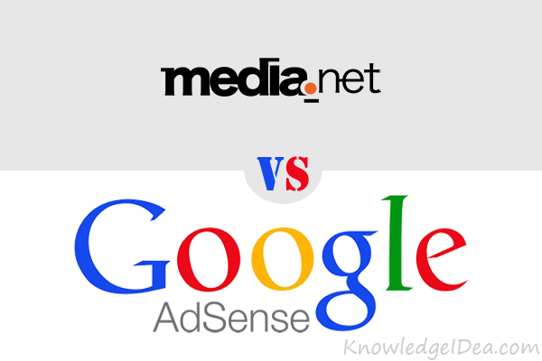 Google AdSense Vs Media.net