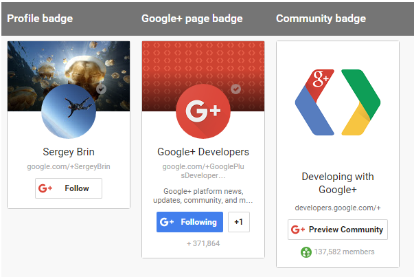 How to Add Google Plus Badge to Website