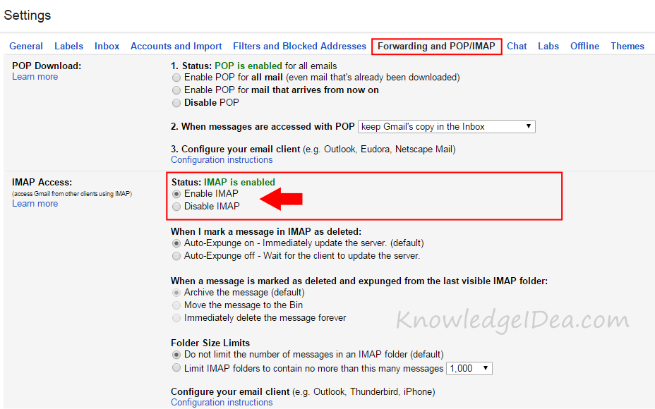 How to Add Your Gmail Account to Outlook step 1