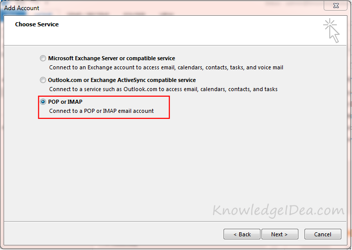 How to Add Your Gmail Account to Outlook step 5