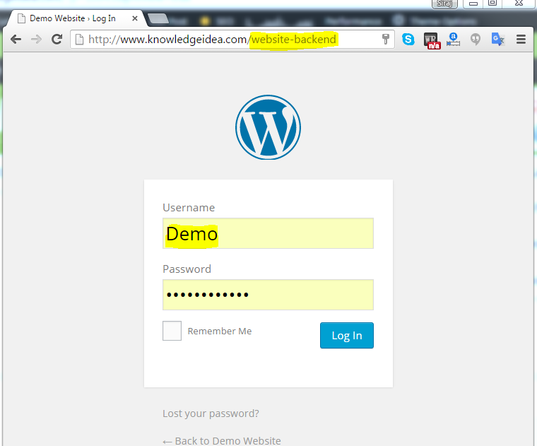 How to Change WordPress Admin Login URL preview