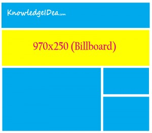High Paying Adsense Ad Sizes Billboard