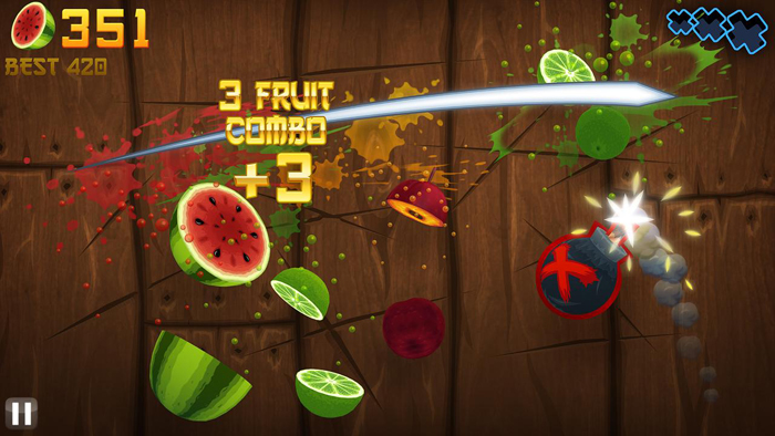 Top 10 Android Games of All Time Fruit Ninja