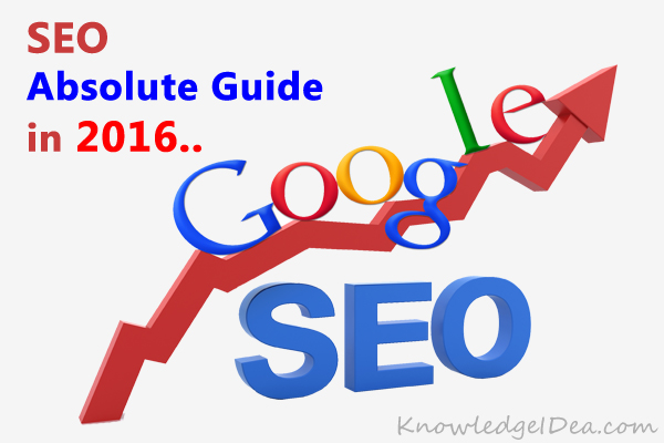 Absolute SEO Guide in 2016