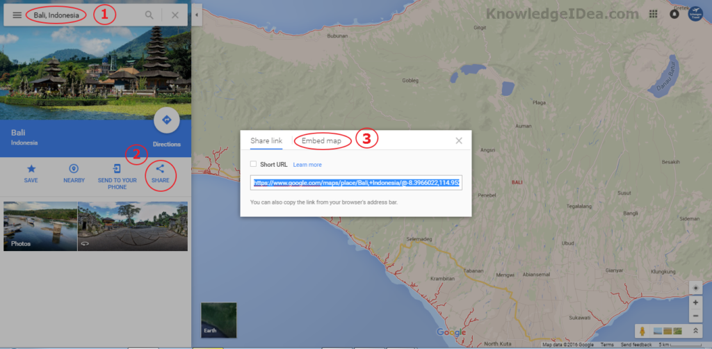 How to Embed Google Maps On Blog Image 1