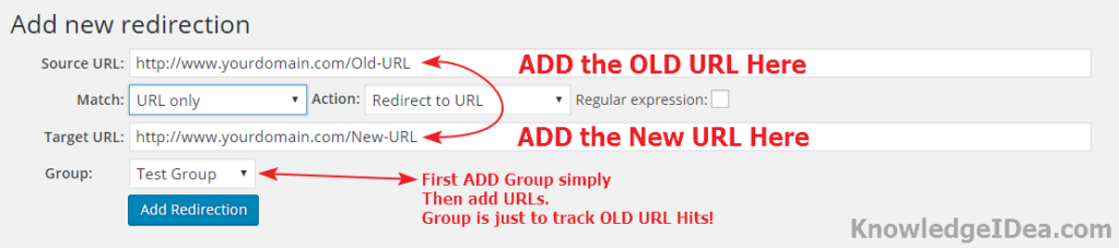 How to Redirect Old URLs to New URLs in WordPress