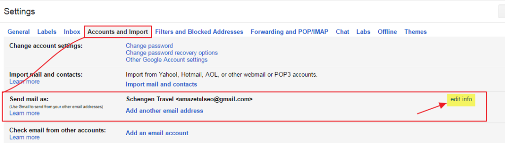 How To Change Gmail Account Username Step 2