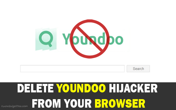 Delete Youndoo Hijacker From Your Browser