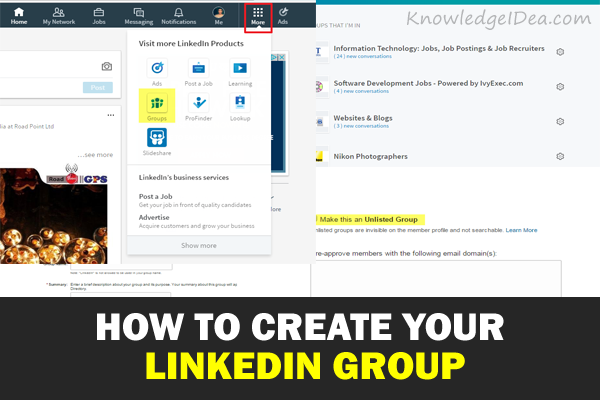 How to Create Your LinkedIn Group