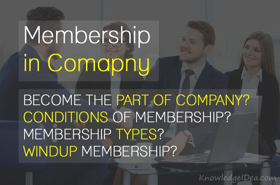 Membership in Company or Organization