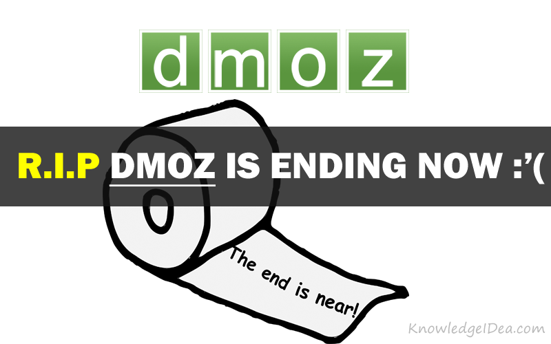 DMOZ Journey Ending in March