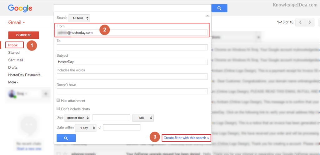 How to Move Email Any Specific Gmail Folder Automatically Step 3