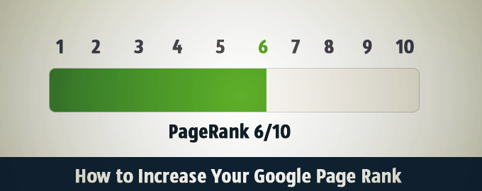 How to Increase Google Page Rank