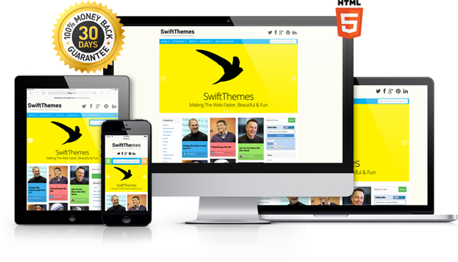 Download Swift Premium WordPress Theme