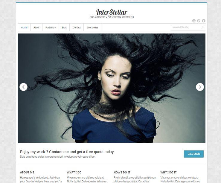 InterStellar Free WordPress Theme