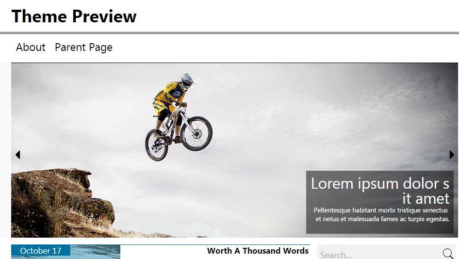News Magazine Free WordPress Theme