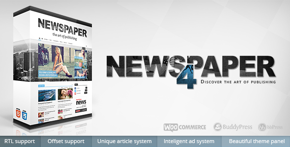 Newspaper Best WordPress theme