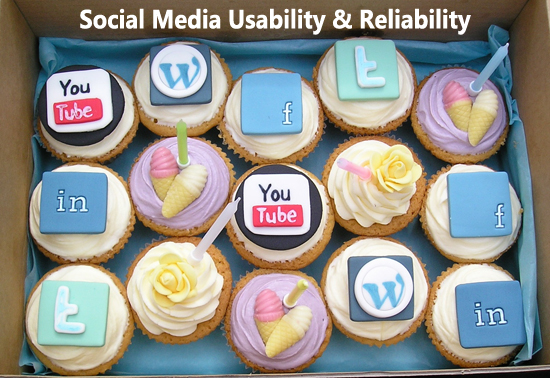 Social Media Marketing Usability and Reliability