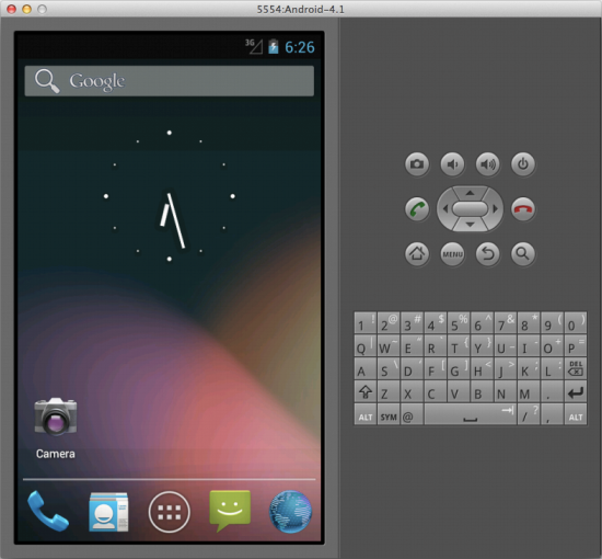 Android Emulator for PC step 7