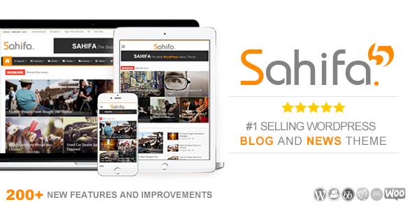 Sahifa WordPress Magazine theme