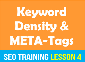 Keyword Density and Meta Tags_SEO Training