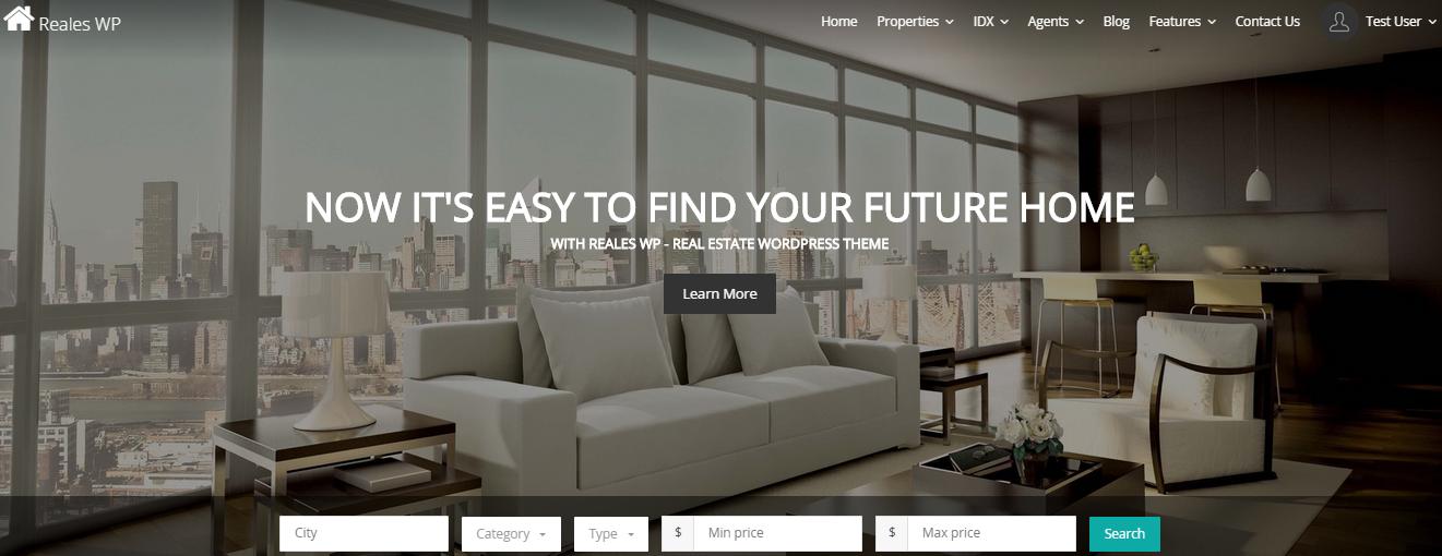 Reales WP Real Estate WordPress Themes