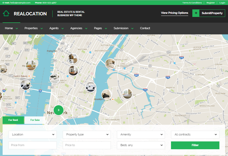 Realocation Real Estate WordPress Themes