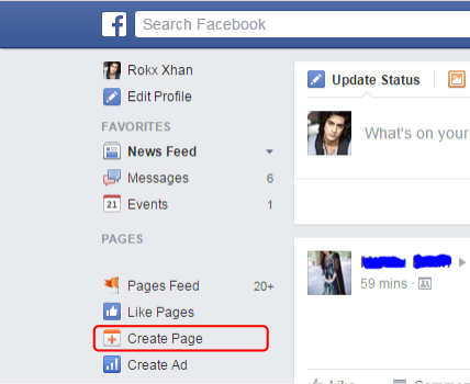 How to Create Facebook Page For Business step 2
