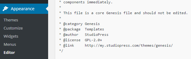 Add Logo To Genesis Framework step 5