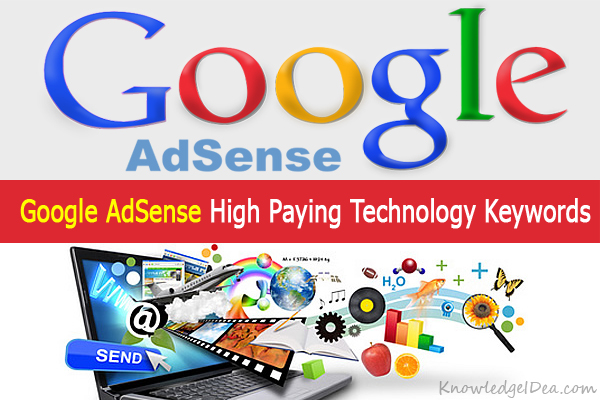Google AdSense High Paying Technology Keywords