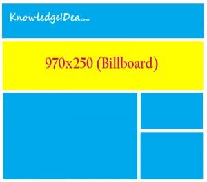 High Paying Adsense Ad Sizes Billboard