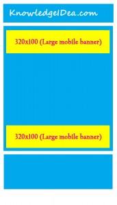 High Paying Adsense Ad Sizes Large mobile banner