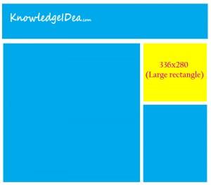 High Paying Adsense Ad Sizes Large rectangle