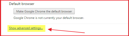 How to Enable Cookies in Chrome Browser step 2