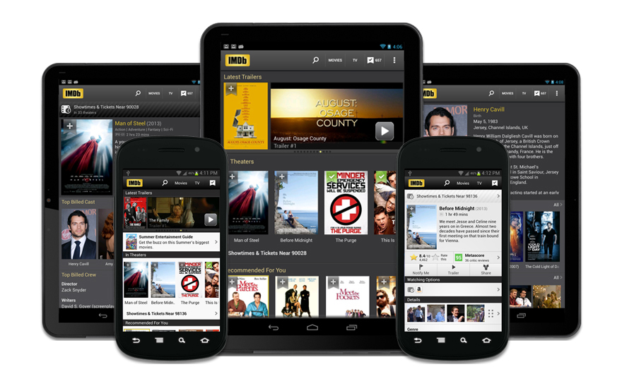 Top 10 Android Entertainment Apps IMDb Movies & TV